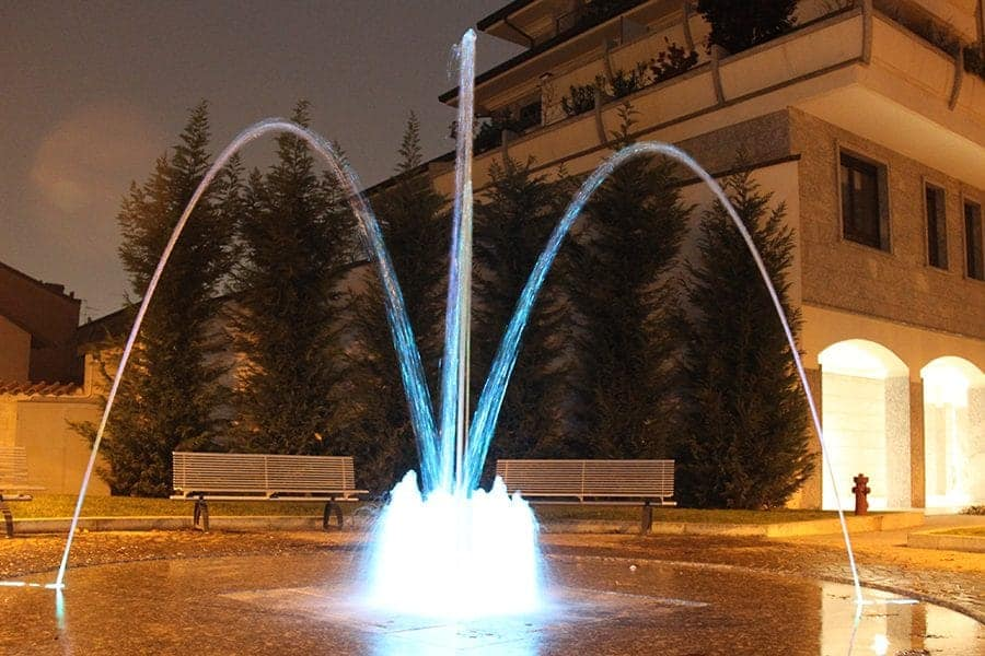 Restyling dancing fountain