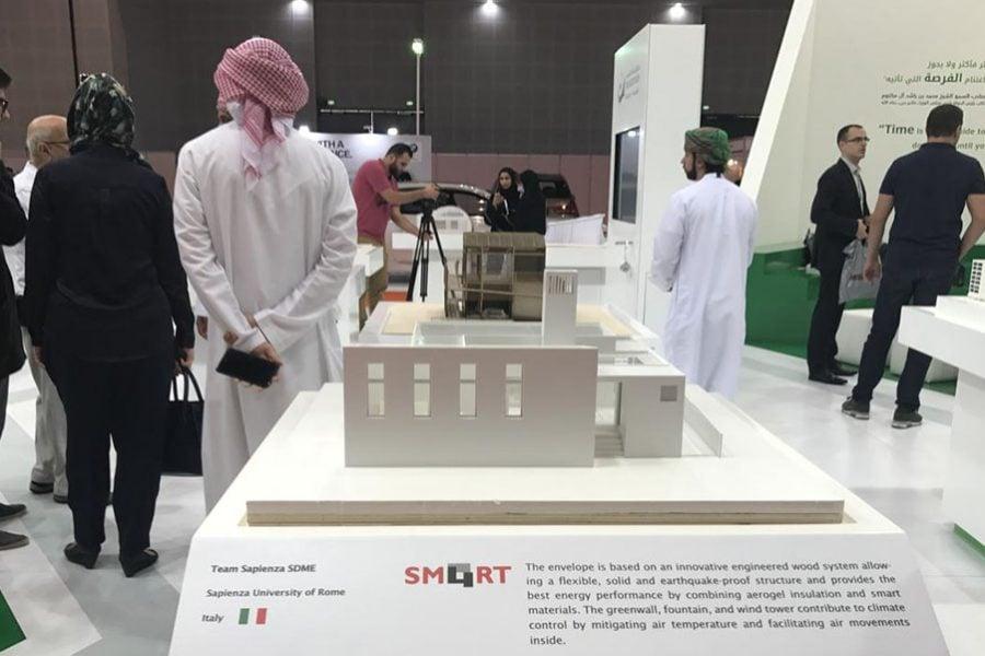 Forme d'Acqua partecipa al Solar Decathlon Middle East 2018 di Dubai