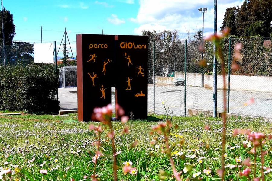 Sport Sculpture – Parco dei Gio'vani, Guardistallo (PI)
