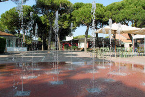 Floor fountain – Union Lido Campsite (VE)