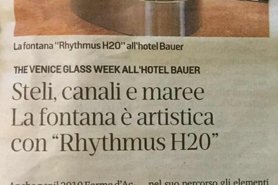 Rhythmus H2O – La Nuova Venezia – Settembre 2019