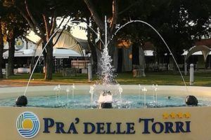 Dancing Musical Fountain at Holiday Centre Pra delle Torri