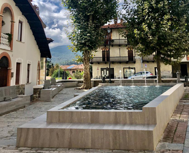 Sunday October 4th we are going to inaugurate the fountain in Sant'Antero square!