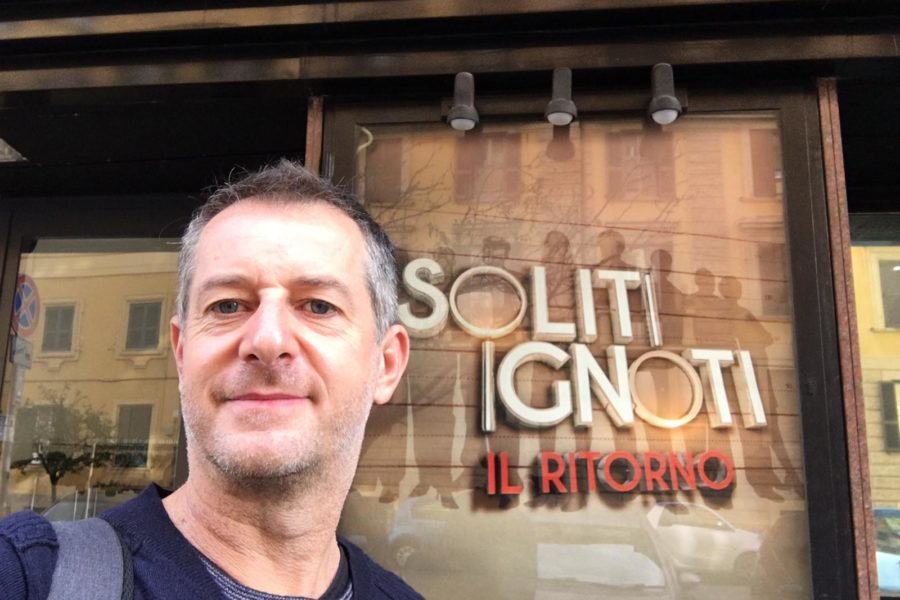 Gianluca Orazio brings our custom fountains to I soliti Ignoti – Il Ritorno