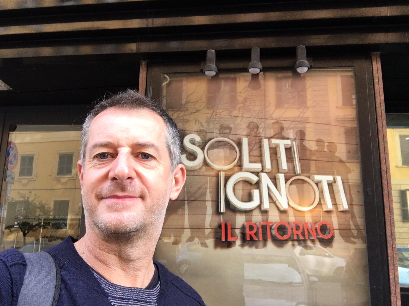Gianluca Orazio brings our custom fountains to I soliti Ignoti – Il Ritorno