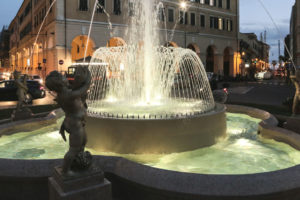 Fountain renovation – Dante square, Imperia