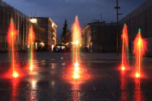 Floor fountain – New Piazza Gina Borellini, Concordia sulla Secchia (MO)