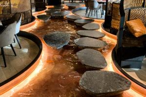 Indoor Fountains – Amy Sushi Restaurant, Reggio Emilia (Italy)